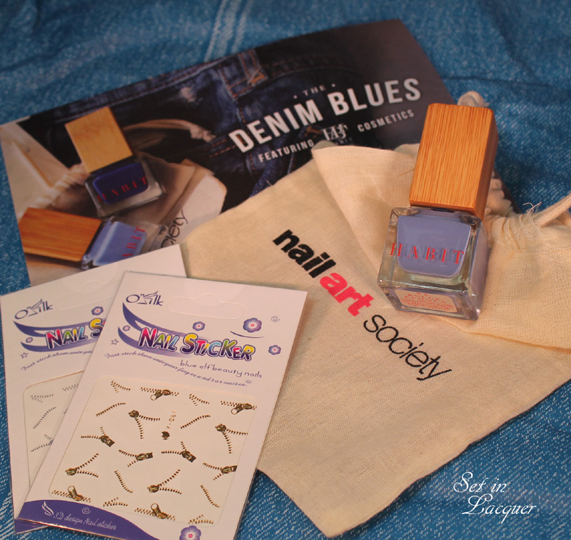 Nail Art Society March Box Features Habit Cosmetics Set In Lacquer