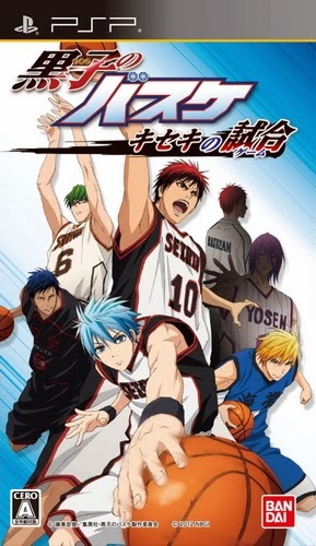 Game Kuroko no Basuke : Kiseke no Game - PPSSPP Android - Trends7Media