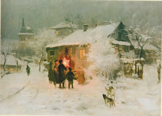Nikolay Pimonenko painting Carols