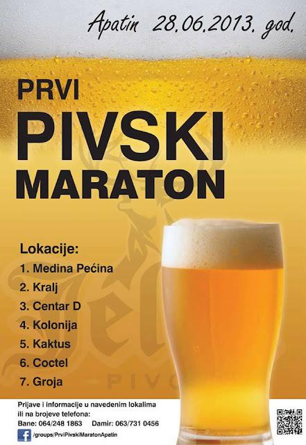 DAJE SE NA ZNANJE-DOBOŠAR JAVLJA :::: - Page 4 Pivski+maraton+-+plakat