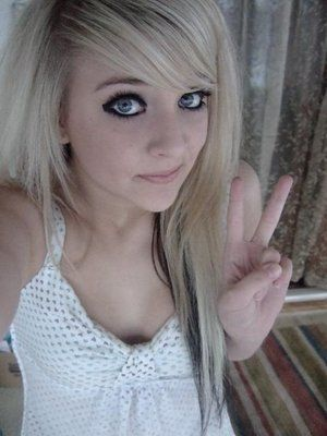 Real Cute Blond Teen 88