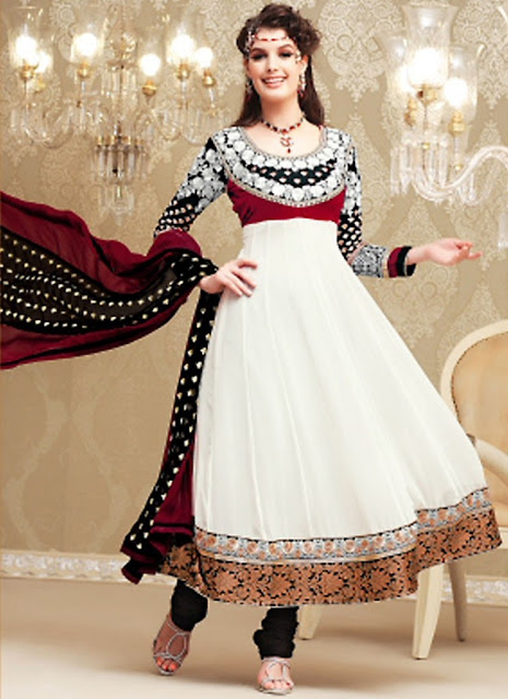 Latest stylish and fancy indian anarkali umbrella frock for Anarkali indian cuisine