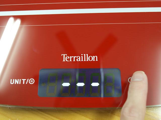 法國 Terraillon My Cook 15 耐壓玻璃板料理電子秤