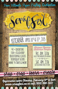 Teaching at Kitchener Scrapfest 2015!