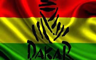 Dakar Por Bolivia - Bandera de Bolivia - Dakar 2014
