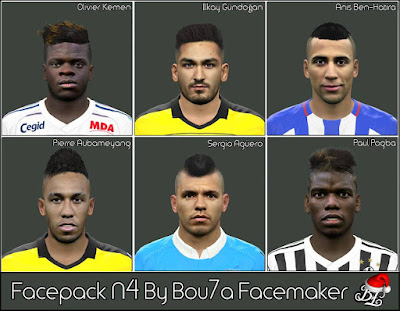 PES 2016 Facepack N4 By Bou7a Facemaker