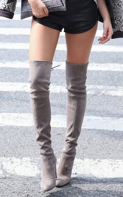 in heels how to wear thigh s the limit