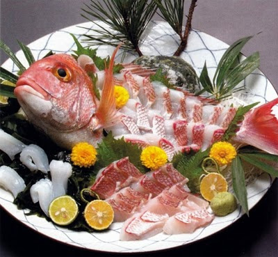 Ikizukuri live sashimi for Best sashimi fish