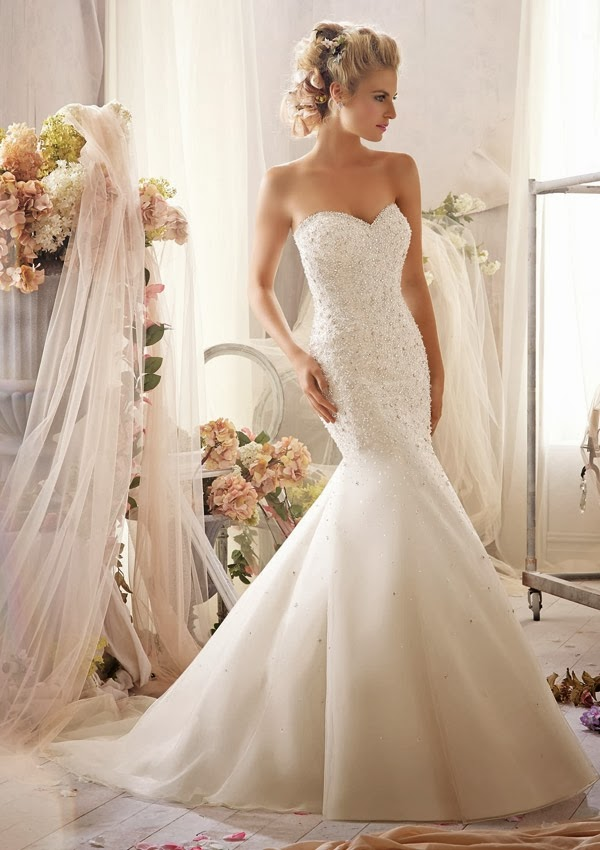 wedding dress mori lee 2014 bg 2603 116 Mori Lee by Madeline Gardner Spring 2014 Collection   Part 2
