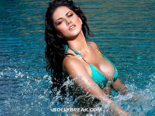 Sunny Leone in bikini in water - Sunny Leone in bikini in Jism 2 