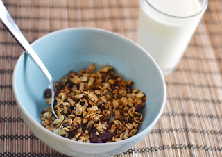 sorghum granola [secret recipe club]