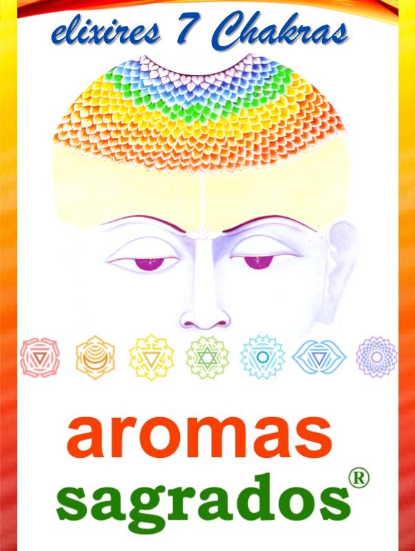 Elixires 7 Chakras, de Aromas Sagrados®