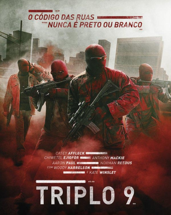 Triplo 9 Torrent - Blu-ray Rip 720p e 1080p Dual Áudio (2016)