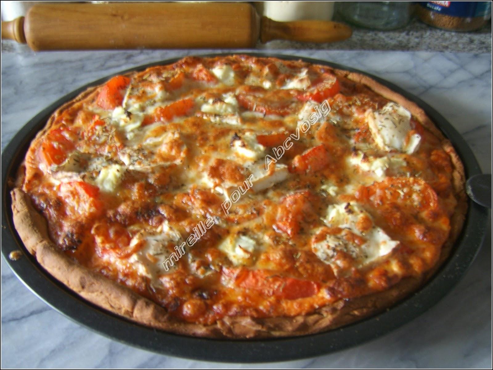 a b c vos ig pizza 224 la tomate et aux trois fromages ig bas