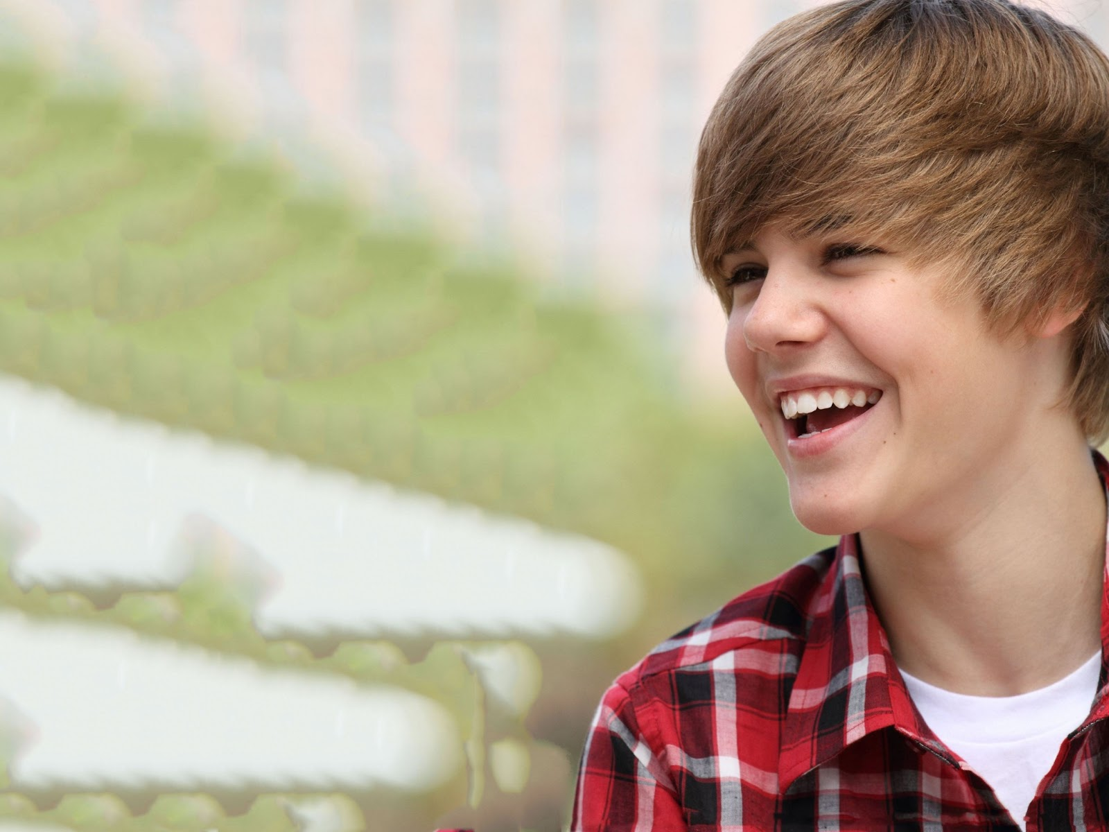 Justin Bieber is Laughing