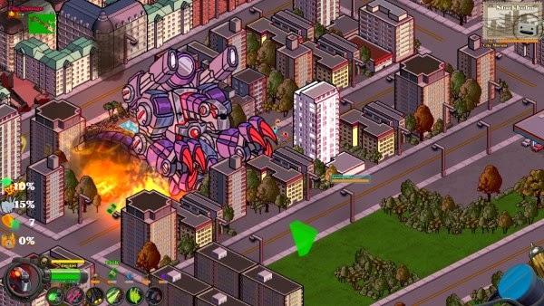 تحميل لعبة الاكشن الاستراتيجية الرائعة 2015 Kaiju A GoGo كاملة