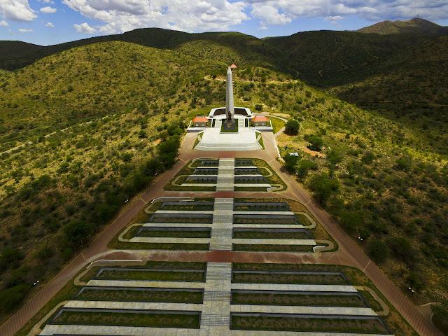 Heroes' Acre Windhoek, Namibia