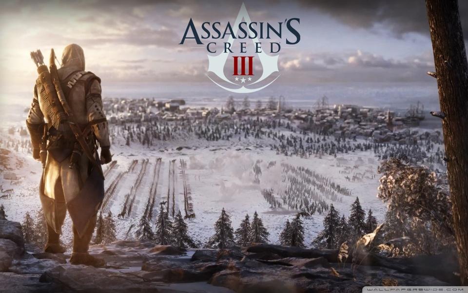 Wallpaper Assassins Creed III