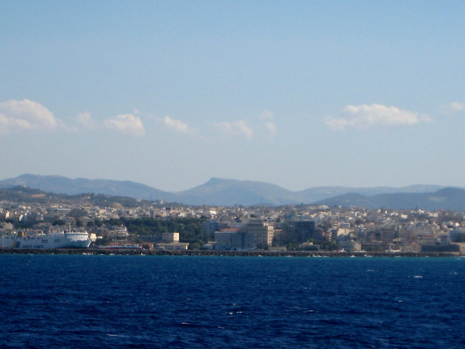 Putovanje na Krit brodom [foto i video reportaza]; Getting to Crete by ferry-boat (photo and video)
