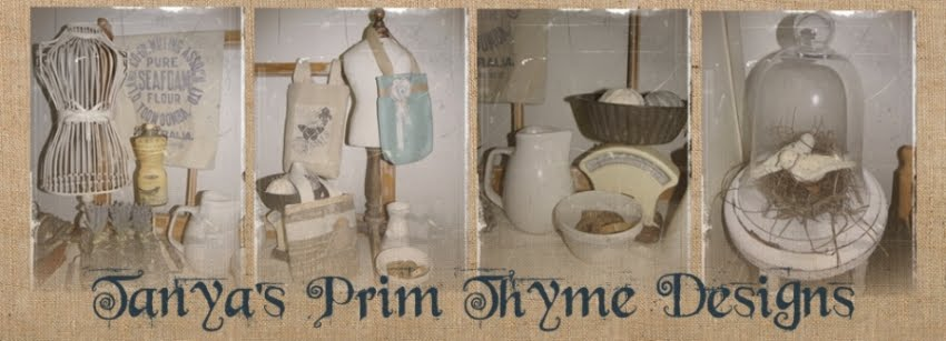 Tanyas Prim Thyme Designs Journal