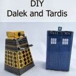 How to make a Dalek & TARDIS