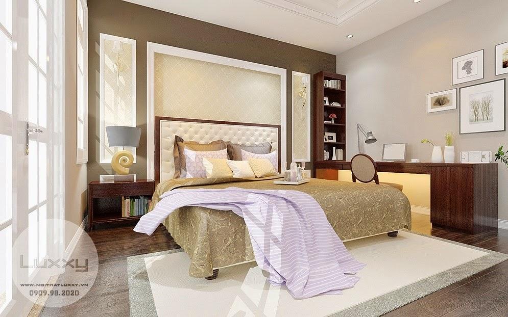 Thiết kế nội thất biệt thự T2 Ciputra phong cách Tân Cổ Điển đẹp