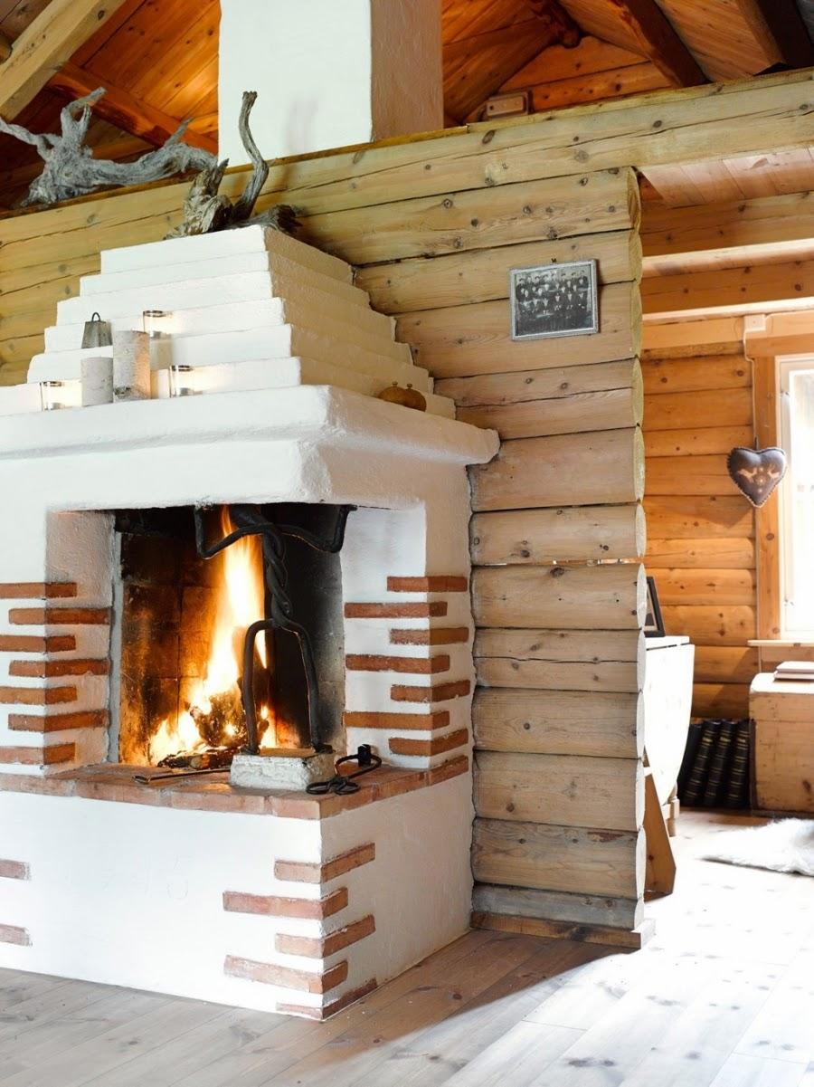 wystrój wnętrz, home decor, wnętrza, dodatki, dom, mieszkanie, dom z bali, dom drewniany, trawa na dachu, salon, kominek