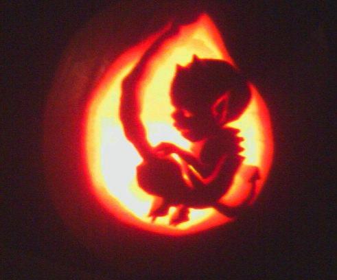Free Evil Pumpkin Faces Jack-O-Lantern Stencils - Yahoo! Voices