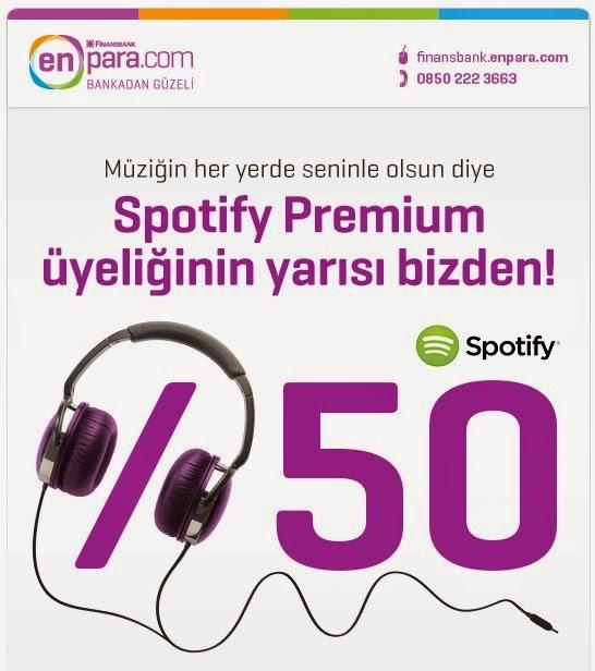 Enpara.com'dan Spotify Kampanyası