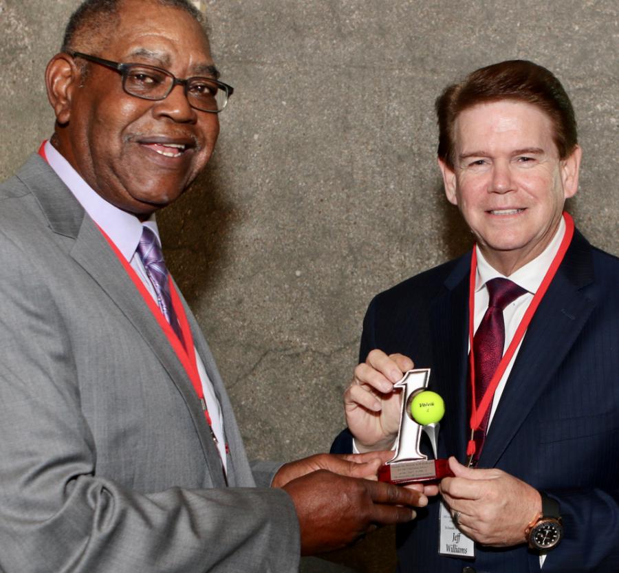 President Alex Alexander and Mayor Jeff Williams