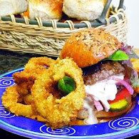 Carla Hall's Onion Rings 10.20.11
