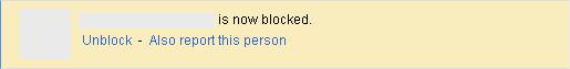 Google+: is now blocked