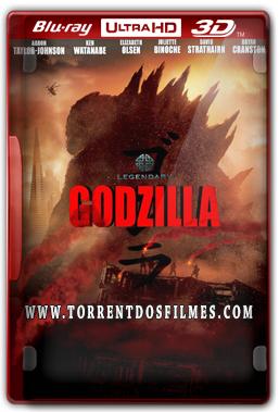 Godzilla (2014) Torrent - Blu-Ray Ultra HD 3D Dual Áudio