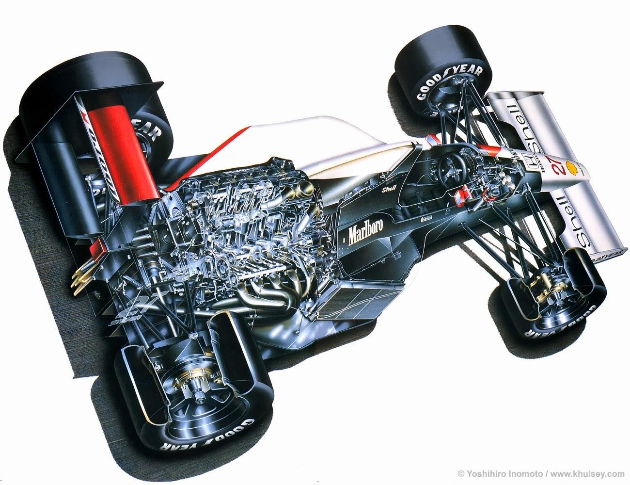 Turbo Mclaren f1 of The Mclaren Honda f1