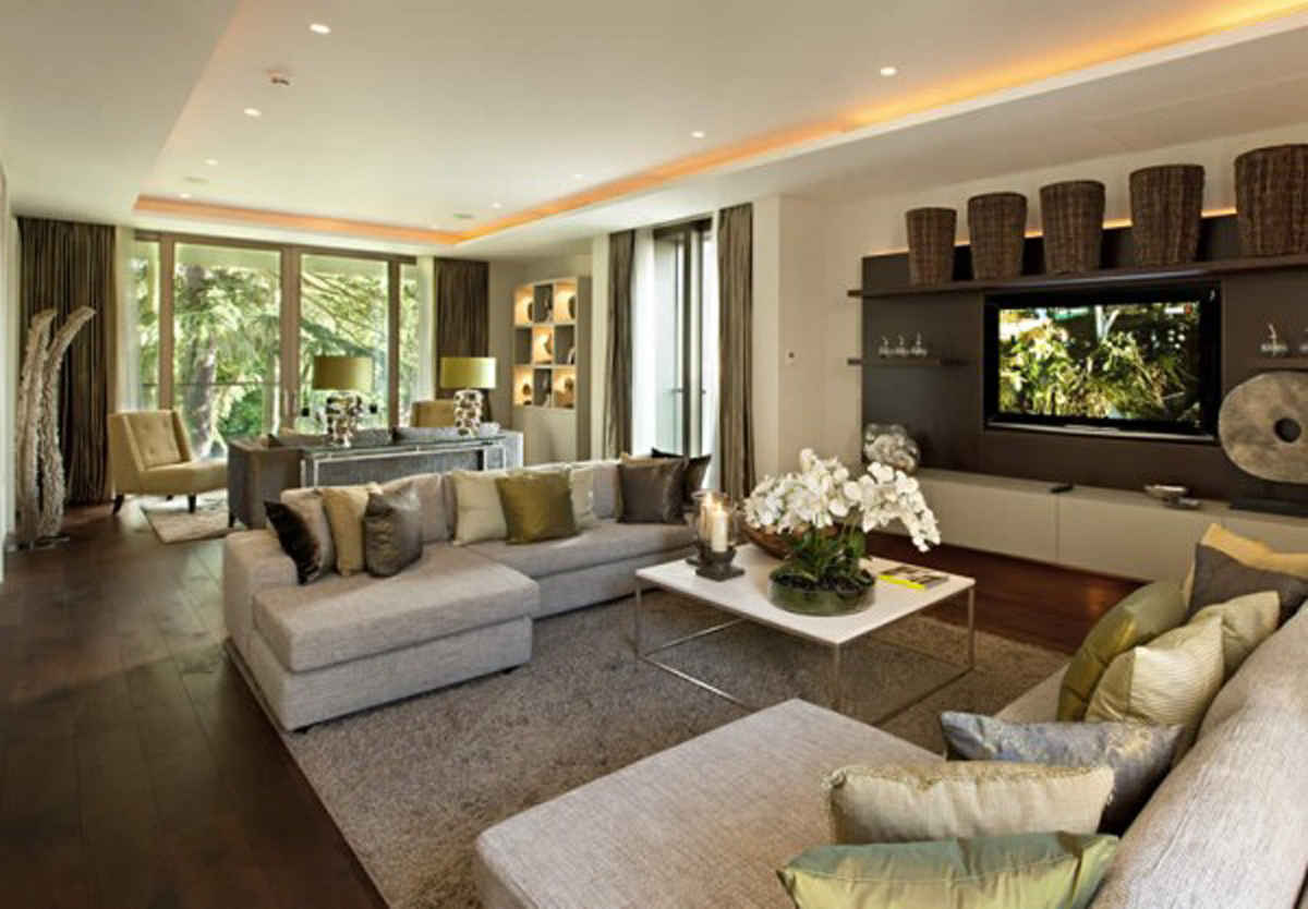 Elegant All These Nice Living Room Idea Pictures Above Mainly Taking About Backyard  Home Decor With A Cheap Budget. You Can Manage It As Good As Its Picture,  ...