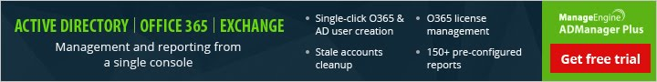 AD Manager Plus