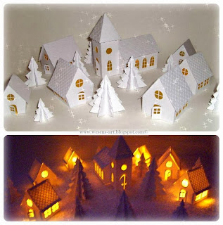 WinterVillage     wesens-art.blogspot.com