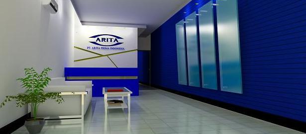 Jasa Gambar Interior Ruang Resepsionis Perusahaan dan ruang tunggu ...