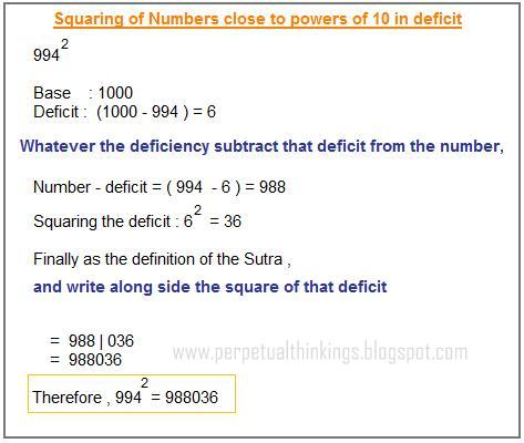 math worksheet : math trick to find number  educational math activities : Vedic Math Worksheets