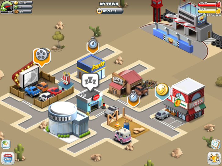Car Town Streets Free App Game By Cie Games