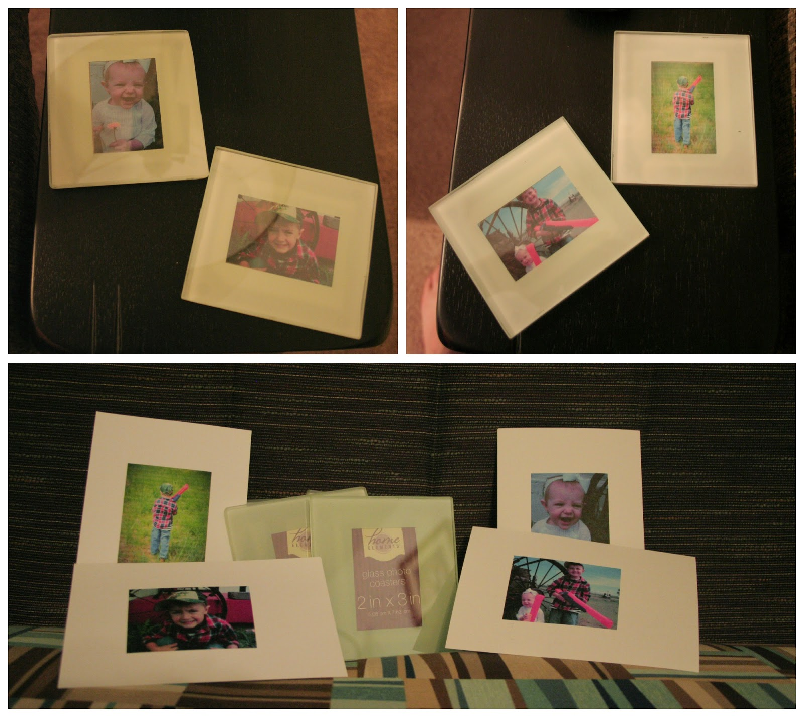 Fathers Day Gifts, Picture Coasters, Man Cave coasters