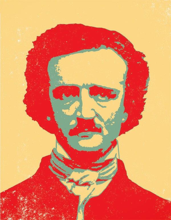 Edgar Allen Poe Pop Art