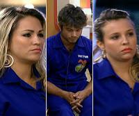 Angelis, Ísis e Victor estão na Roça tripla, saiba tudo sobre a prova decisiva