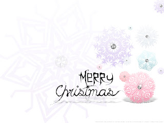 Free Download Christmas Flowers Art Wallpaper