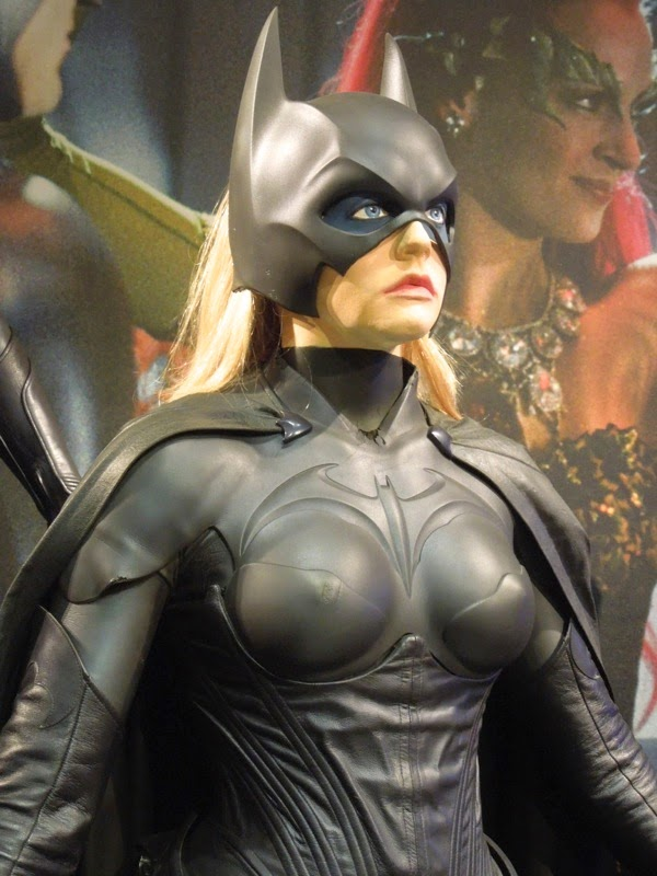 Alicia Silverstone 1997 Batgirl movie costume