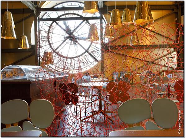 Café Campana Musée D'Orsay déco design frères Fernando Humberto Campana
