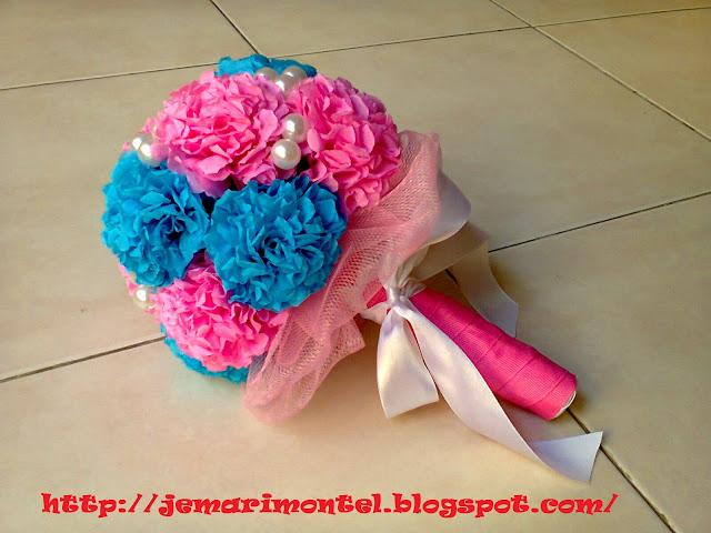 bunga tangan crepe