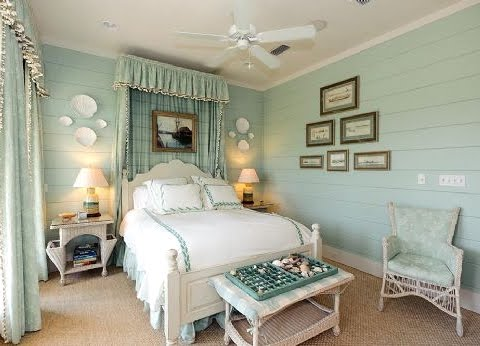 aqua blue bedroom