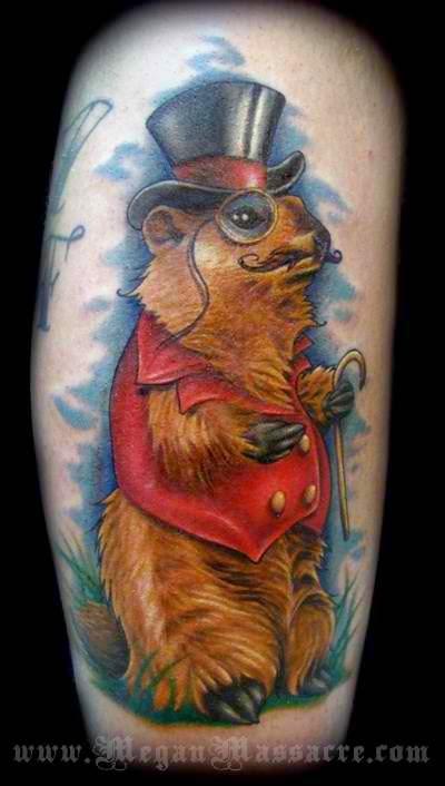 Amazing tattoos by Megan Massacre