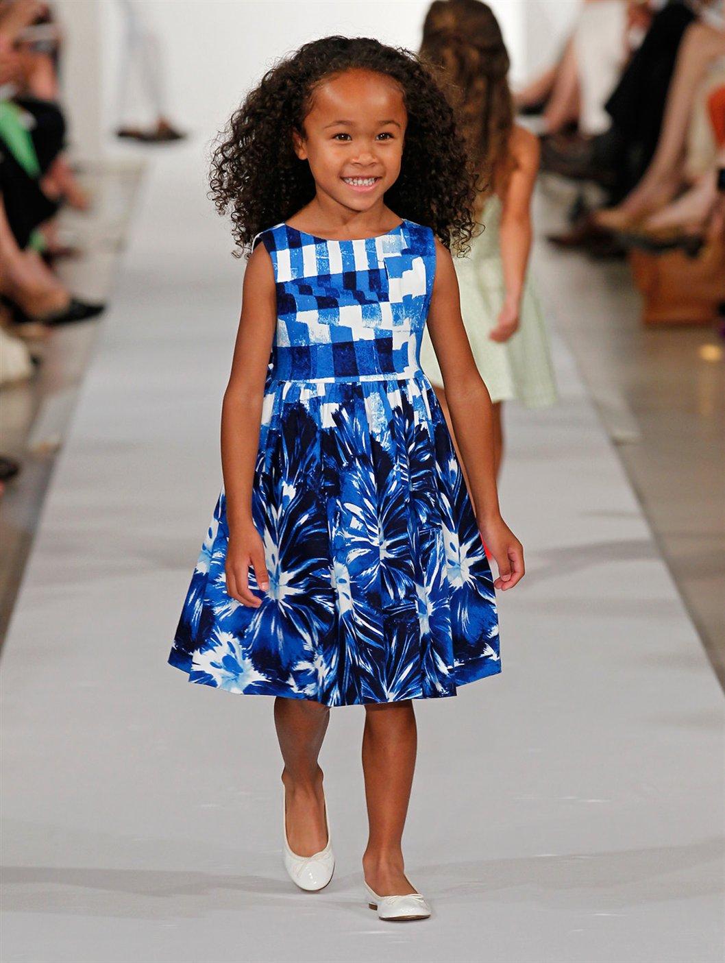 Oscar de la renta kids fashion show 75